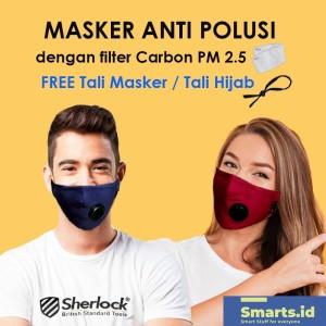 Harga Masker Motor Anti Polusi Supermask Sos Filter Debu Udara 0 3 Micron Katalog.or.id