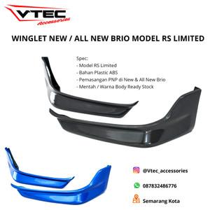 Info Winglet Diffuser Universal Lips Bumper Wide Body D2 Winglet Katalog.or.id