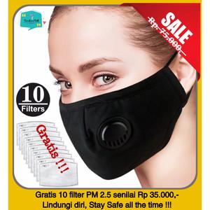Info Masker Motor Anti Polusi Supermask Sos Filter Debu Udara 0 3 Micron Katalog.or.id