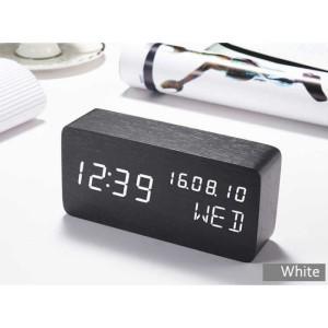 Info Jam Weker Alarm Kayu Digital Suara Control Berkualitas Katalog.or.id