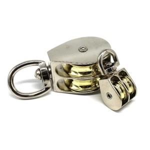 Info Katrol Double Pulley 52mm Kuat Kerekan Alur Ganda Dobel Mini Wheel Katalog.or.id