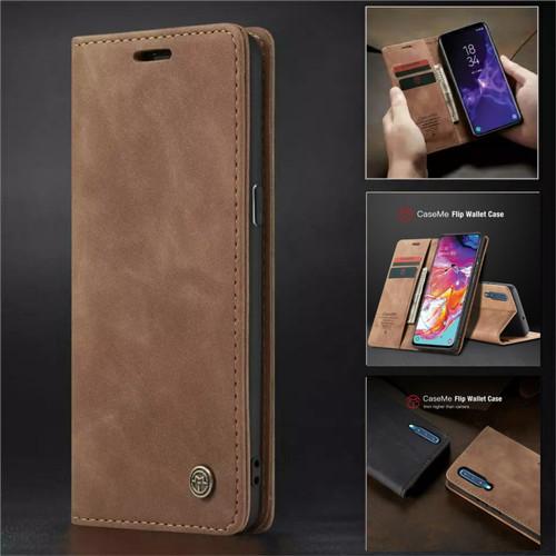 Foto Produk Samsung galaxy A7 2018 Flip Case Caseme Cover Leather Wallet Dompet - Hitam dari Vinvend ACC