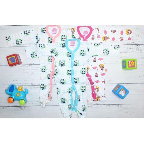 Foto Produk Pakaian Tidur Bayi 6-9 bulan ( Isi 3 pcs ) Hunday BAC109 dari hundayshop