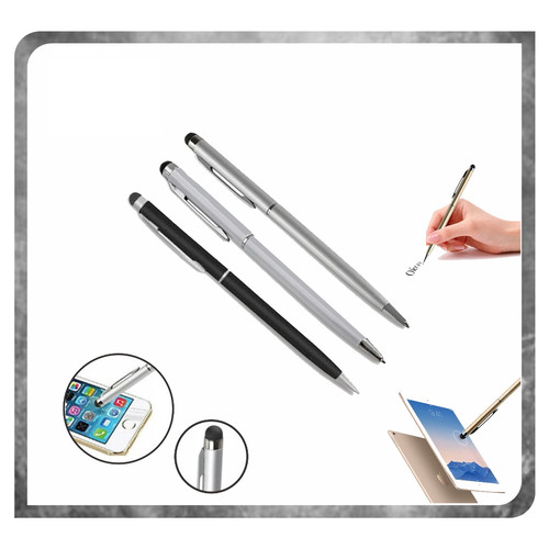 Foto Produk PEN STYLUS 2IN1 Touch Screen Stylus Ballpoint For Smartphone dari K2 Official Store