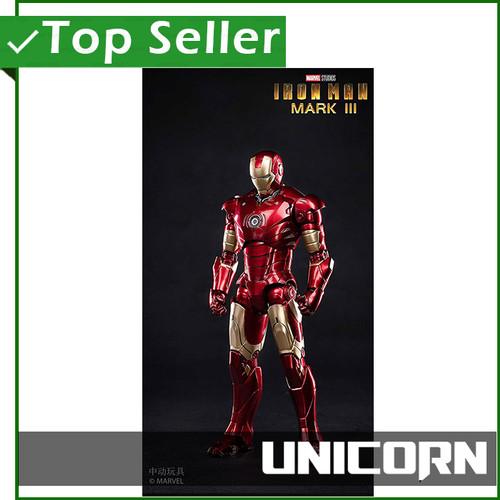 Foto Produk 1/10 IRON MAN MARK III ZD TOYS / MK 3 / ZHONG DONG / ZHONGDONG dari Unicorn Toys