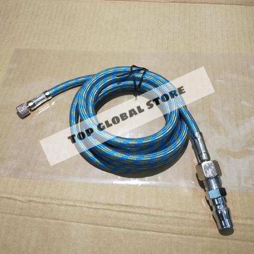 Foto Produk Selang air brush 1/8 x 1/4 panjang 1.8mtr + Coupler PM20 dari TGS Tools
