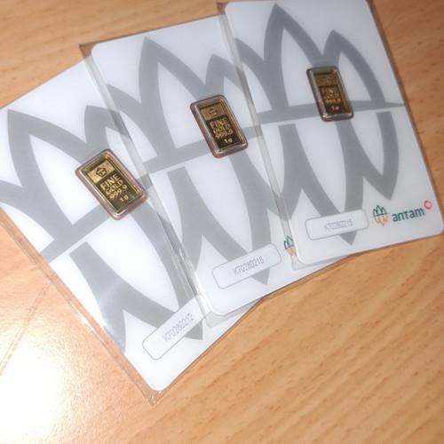 Foto Produk Logam Mulia ANTAM 1 gram Emas 24K dari Kilauberkah