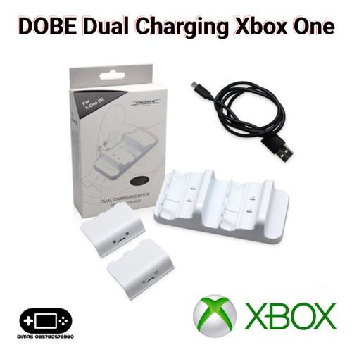 Foto Produk DOBE Dual Charging Xbox One S One X Dock Station dari Dimas Retro Game