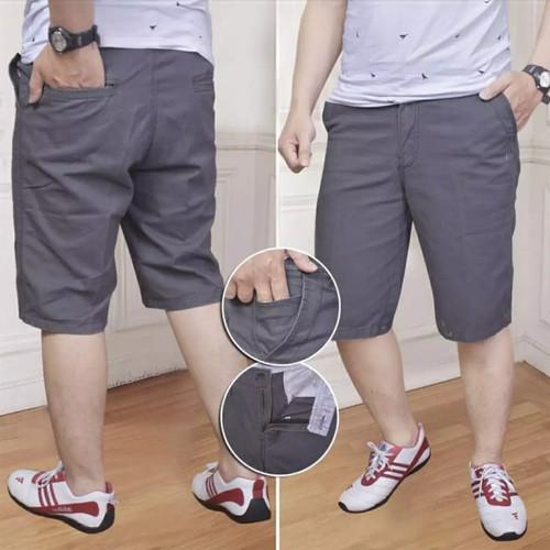 Foto Produk celana chino pendek pria harga spesial sangat terjangkau - Abu-abu, 27 dari puak lapak2
