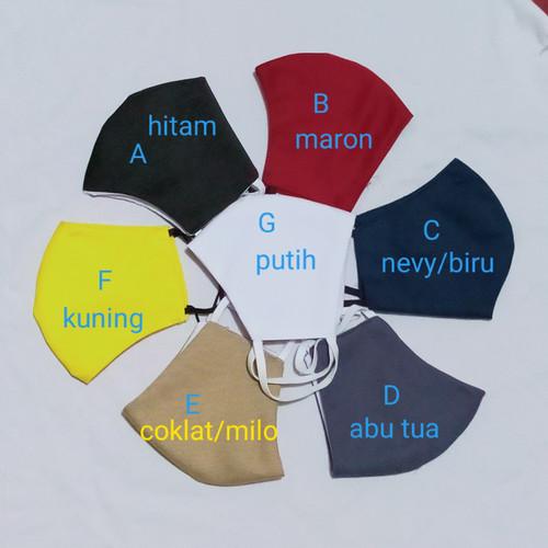 Foto Produk masker kain katun dewasa 3 play dari fashionstar.