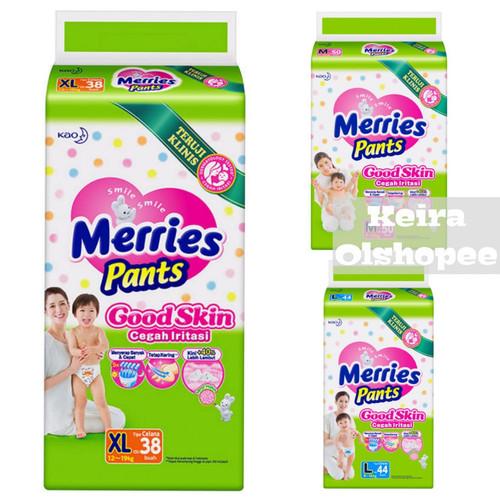 Foto Produk Merries Pants Good Skin Mega Pack M50/ L44/ XL38 - M50 dari Keira Olshopee