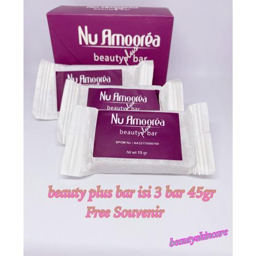 Foto Produk Nu Amoorea Beauty plus Bar 45gram Original PT DEP dari beautyskincaree