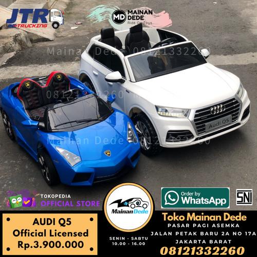 Foto Produk Mainan Mobil Aki Anak Audi Q5 License dari Mainan Anak Dede