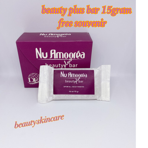 Foto Produk Nu Amoorea Beauty Plus Bar Stemcell 15gr Original PT DEP dari beautyskincaree