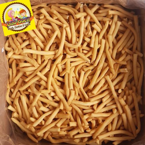 Foto Produk Stik Bawang Gurih Asli Palembang 250 Gram dari DUO BOCIL SNACK