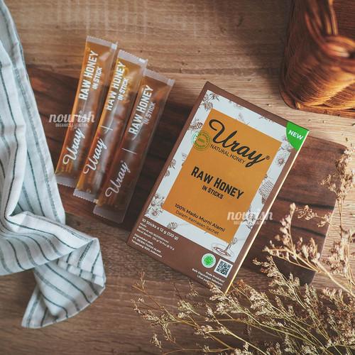 Foto Produk Madu Uray Stick Sachet 10 stick (Raw Honey Madu Hutan) dari Nourish Indonesia