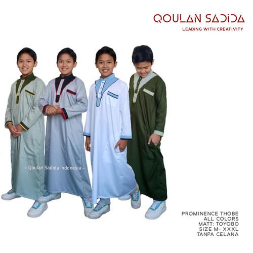 Foto Produk Thobe/Jubah Anak Prominance Series by Qoulan Sadida dari kedai berkah