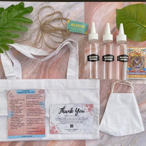 Foto Produk TIE DYE KIT (TOTEBAG dan MASKER) dari Alucio_Store