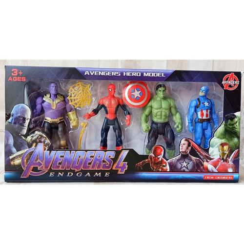 Foto Produk Mainan Robot Avengerr 4 pcs | Figure Super hero No.2154 dari tomiko toys