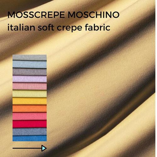 Foto Produk Kain Mosscrepe / Moschino Per 0.5 Meter dari Toko Brukat