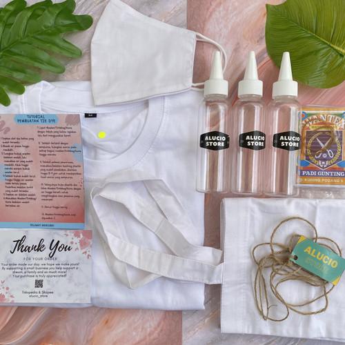 Foto Produk TIE DYE KIT (BAJU, TOTEBAG, MASKER) - SIZE 6 - ANAK dari Alucio_Store