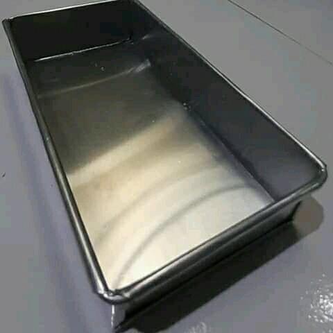 Foto Produk loyang brownies bahan alumunium ukuran 20x10x4 sampai 28x10x4 - 20 cm dari andiloyang