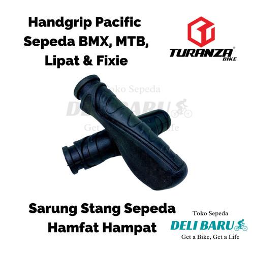 Foto Produk Hand grip Sarung stang sepeda BMX MTB lipat model golok dari deli_baru