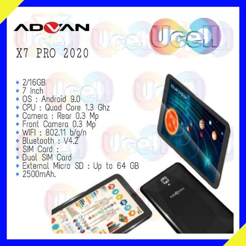 Foto Produk Advan X7 Pro 2020 - 2GB/16GB - Garansi Resmi - Gold dari ucell cempaka