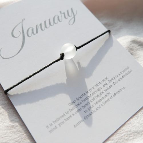 Foto Produk BIRTHSTONE BRACELET - Gelang Bulan Lahir-JANUARI-JUNY - Januari dari Gienscollection