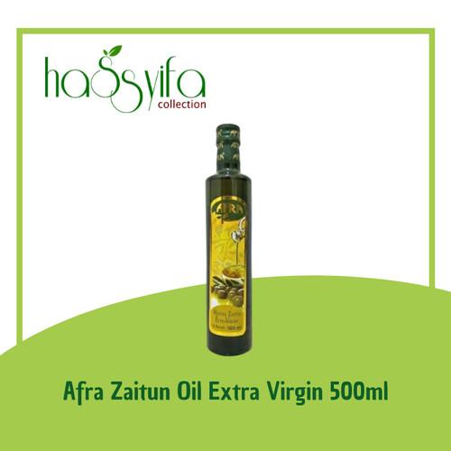 Foto Produk Afra Minyak Zaitun 100% Extra Virgin 500ml dari Hassyifa collection