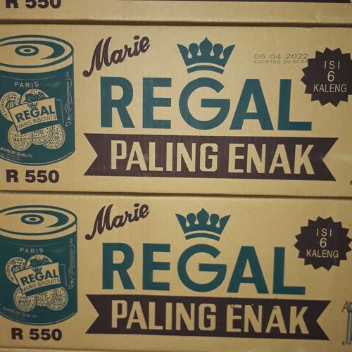 Foto Produk Biskuit Marie Regal 550 Grm dari Sumber Berkah Boga