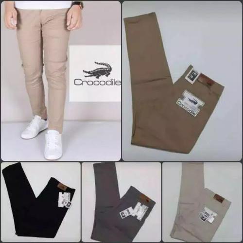 Foto Produk celana cinos panjang pria terbaru / celana cinos murah / celana pria - Hitam, 22 dari AURA 53 STORE