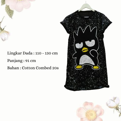 Foto Produk Dress Wanita Jumbo Midi Dress Casual Wanita Dress Karakter Badzmaru dari Poedie