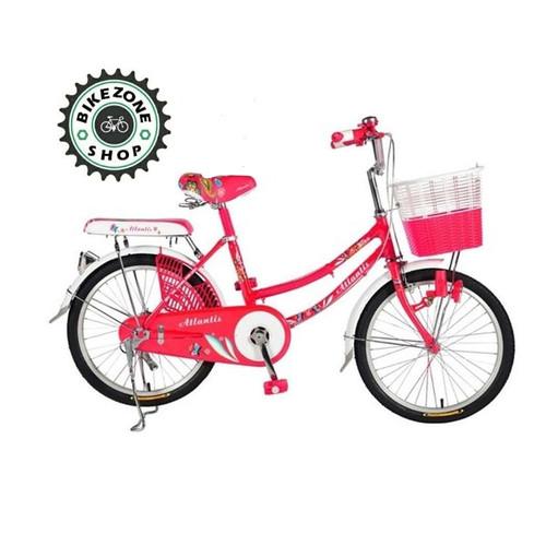 Foto Produk Sepeda Mini Dewasa keranjang City Bike 24 inch Atlantis dari bikezone shop
