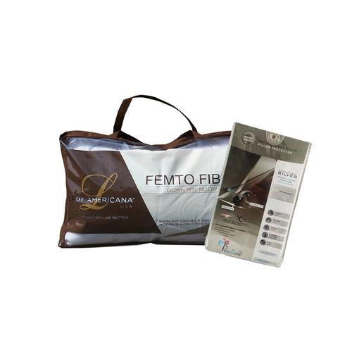 Foto Produk Bantal Femto + Pillow Case (Pelindung Bantal) dari Lady Americana