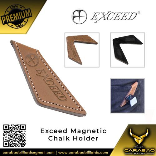 Foto Produk Exceed Magnetic Chalk Holder (Brown) dari Carabao Billiard Indo
