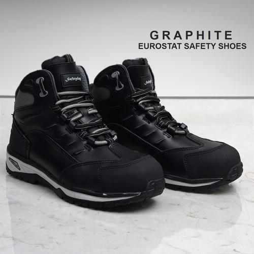 Foto Produk SEPATU KERJA SAFETY SHOES EUROSTAT GRAPHITE (Composite) - 39 dari Eurostat Safety Shoes