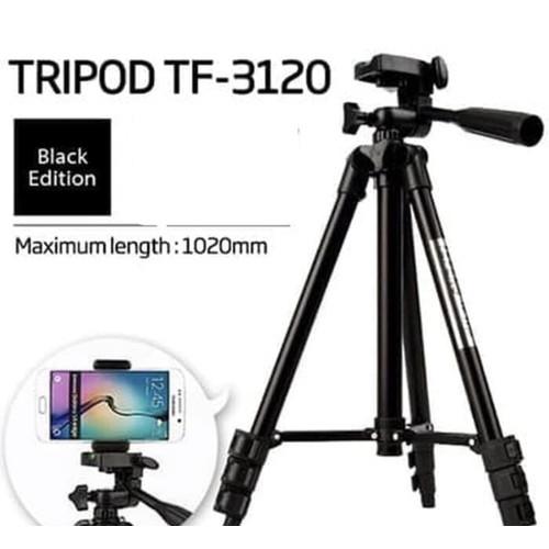 Foto Produk Tripod Weifeng 3120 Universal Black holder dari Kiami Store