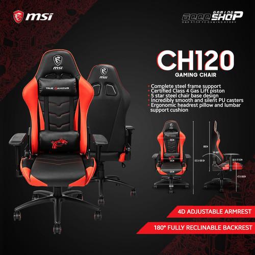 Foto Produk MSi MAG CH120 - Gaming Chair dari GOODGAMINGM2M
