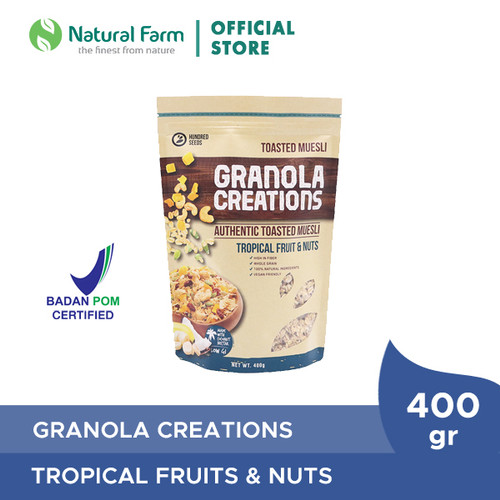 Foto Produk Granola Tropical Fruits And Nuts 400Gr dari Natural Farm