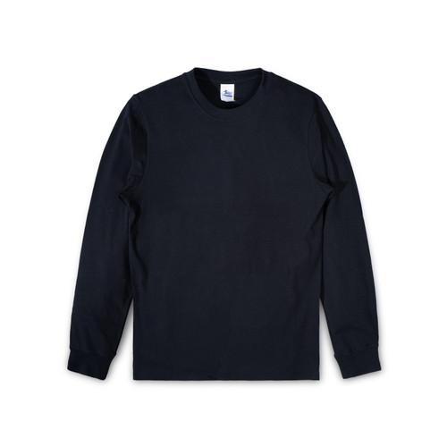 Foto Produk T-shirt Stitch Supply Premium Cotton Hitam Tangan Panjang sz XL XXL - Hitam, XXL dari Stitch Supply