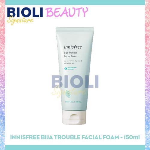 Foto Produk INNISFREE BIJA TROUBLE FACIAL FOAM 150ml - Bioli Beauty dari Bioli Signature
