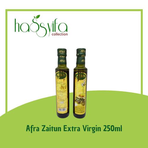 Foto Produk Extra Virgin Minyak Zaitun Afra Kemasan Botol Panjang 250ml dari Hassyifa collection