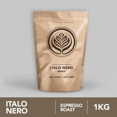 Foto Produk Italo Nero 1kg - Biji Kopi Arabika 1kg   Coffeenatics dari Coffeenatics