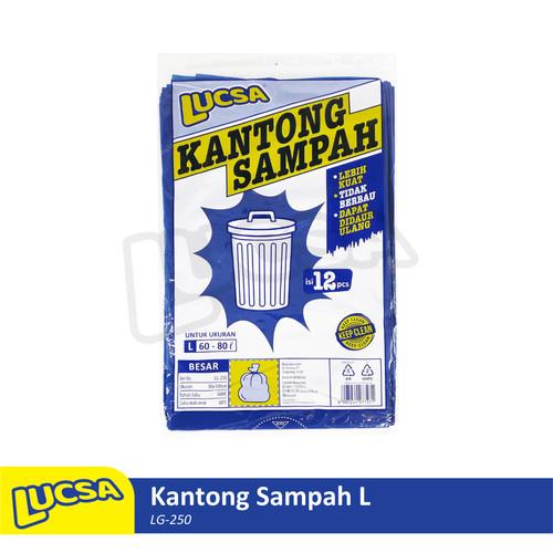 Foto Produk Lucsa Kantong Sampah L 60-80L - Plastik Sampah Bin Liner Garbage Bag dari Lucsa Indonesia