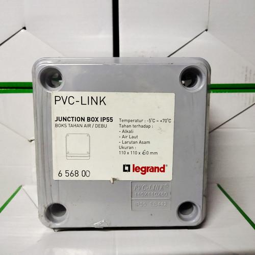 Foto Produk Junction box legrand 110x110x60 IP55 duradus dari firstshop899