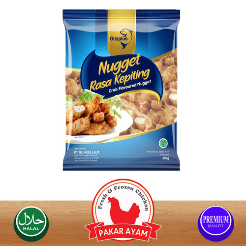 Foto Produk GIZIPLUS CRAB NUGGET / NUGGET KEPITING KUALITAS PREMIUM - 250 Gr dari Pakar Ayam