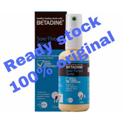 Foto Produk Betadine Sore Throat Spray 50ml original dari KKN <Kedaiku Nikmat>