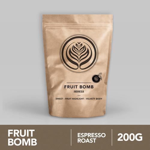 Foto Produk Fruit Bomb 200g - Biji Kopi Arabika 200gr   Coffeenatics dari Coffeenatics
