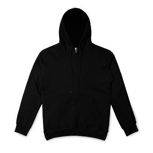 Foto Produk Pullover Hoodie 100% Cotton Hitam - Hitam, L dari Stitch Supply